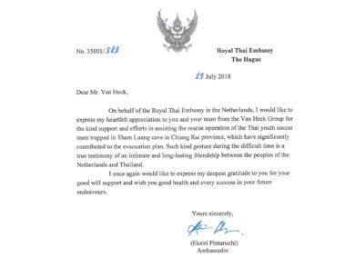 Ambassade van Thailand