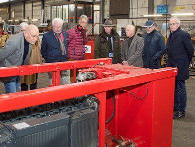 rotary holland bezoek bij Van Heck Group